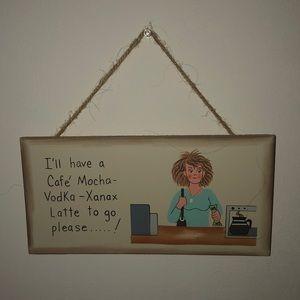 Cafe decor !